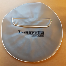 CASA LAMBRETTA   GREY WHEEL COVER WITH SPARES FRONT POCKET